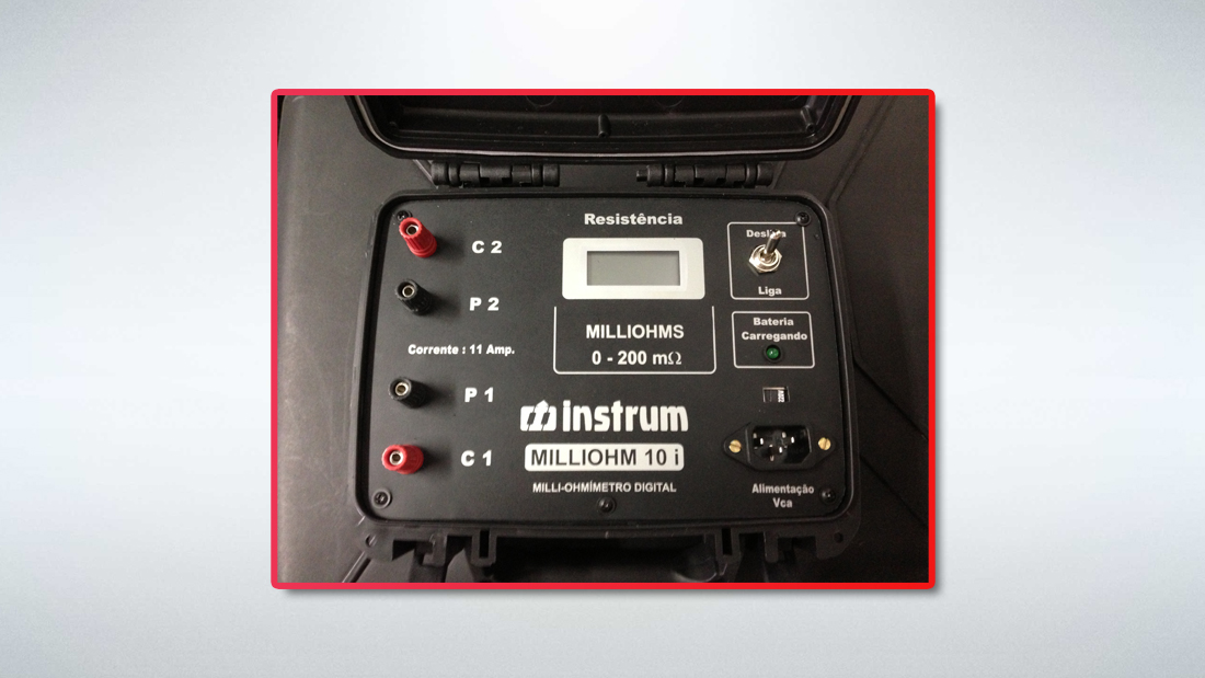 Milliohmímetro / Condutivímetro
